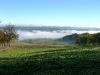 Im Tal liegt noch der Nebel ...