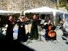 Musik am Schautag der Steinmetze