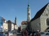Obermarkt, Dreifaltigkeitskirche und Rathausturm