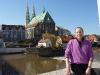 """Auf der \""""Friedensbrücke\"""" von Deutschland nach Polen"""