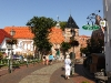 Hauptstraße mit Greetsieler Kirche