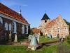 Greetsieler Kirche  mit Glockenturm