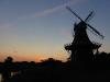 Shoof´s Mühle im Sonnenuntergang