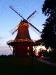 Schoof´s Mühle im Abendrot