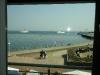 Blick aus unserem Hotelfenster