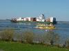 Dicker Pott auf der Elbe