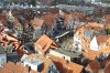Blick vom Kirchturm zur Altstadt