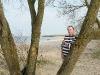 """Am \""""Strand\"""" der Elbe"""