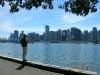 Blick auf Vancouver-City