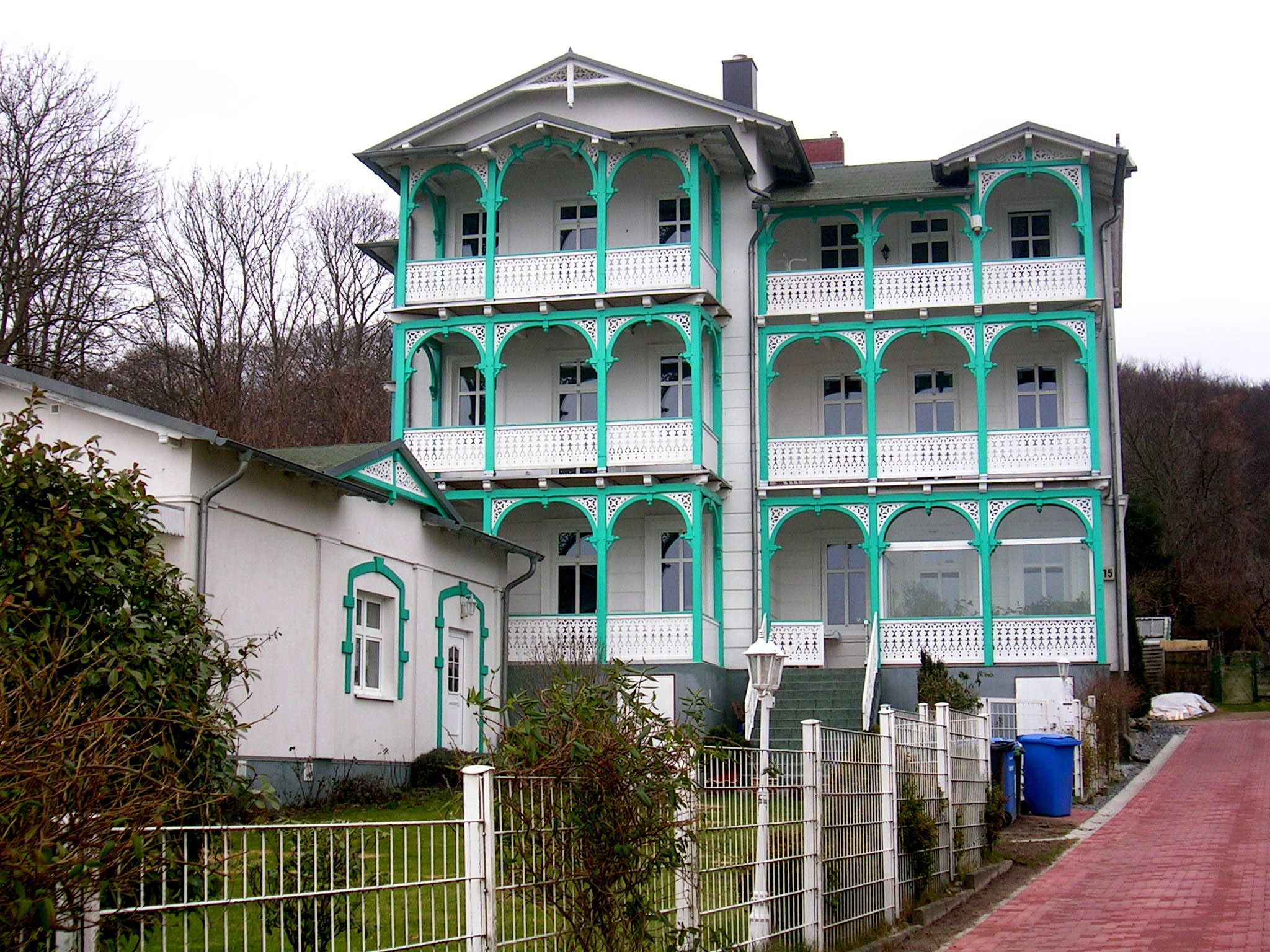 Sassnitz - restaurierte Villa