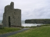 """The Nun´s Strand"" mit Ballybunion Castle"