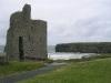 "\""The Nun´s Strand\"" mit Ballybunion Castle"