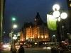 Fairmont Hotel in abendlicher Beleuchtung