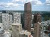 Blick vom Fernsehturm auf die City ...