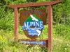"Ankunft ""Alpine Meadow Resort\"""