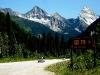 Auf dem Weg zum Rogers Pass