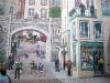 Québec - Wandmalerei