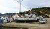 Am Hafen von Agios Stefanos
