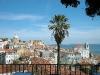 Blick von Santa Luzia auf Alfama