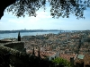 Blick von der Burg auf Altstadt und Tejo