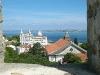 Blick von der Burg auf São Vicente und Tejo