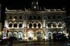Hauptbahnhof am Rossio bei Nacht