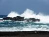 Sturm am Strand von Los Cancajos