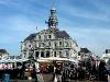 Markt rund um das Rathaus