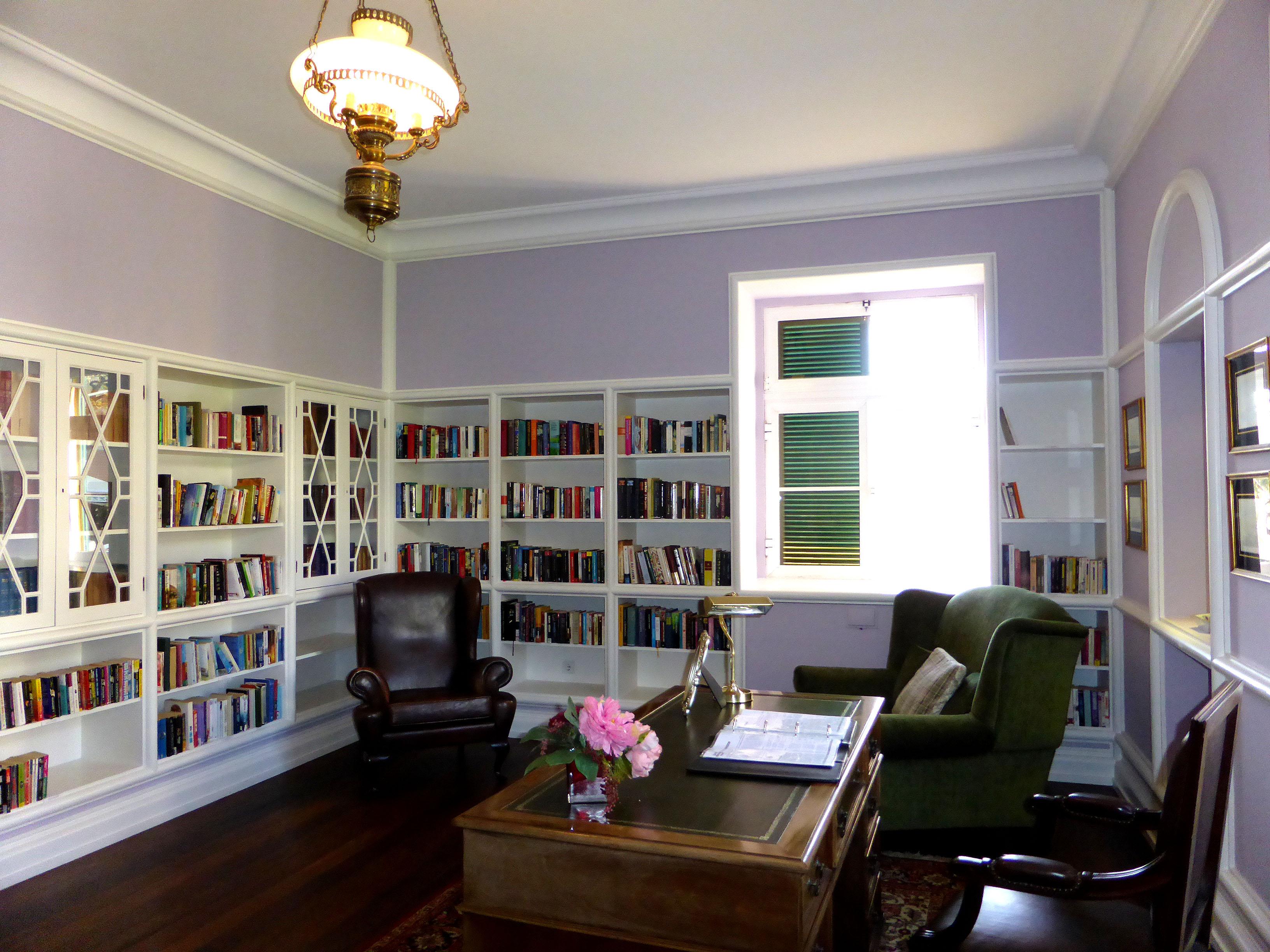 Bibliothek im Haupthaus