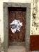 Tür in der Rua Santa Maria
