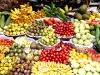 In der Markthalle- Obstvielfalt pur!