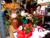 Blumenfrau in der der Markthalle