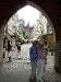 Blick vom Frauentor auf die St. Marien Basilika