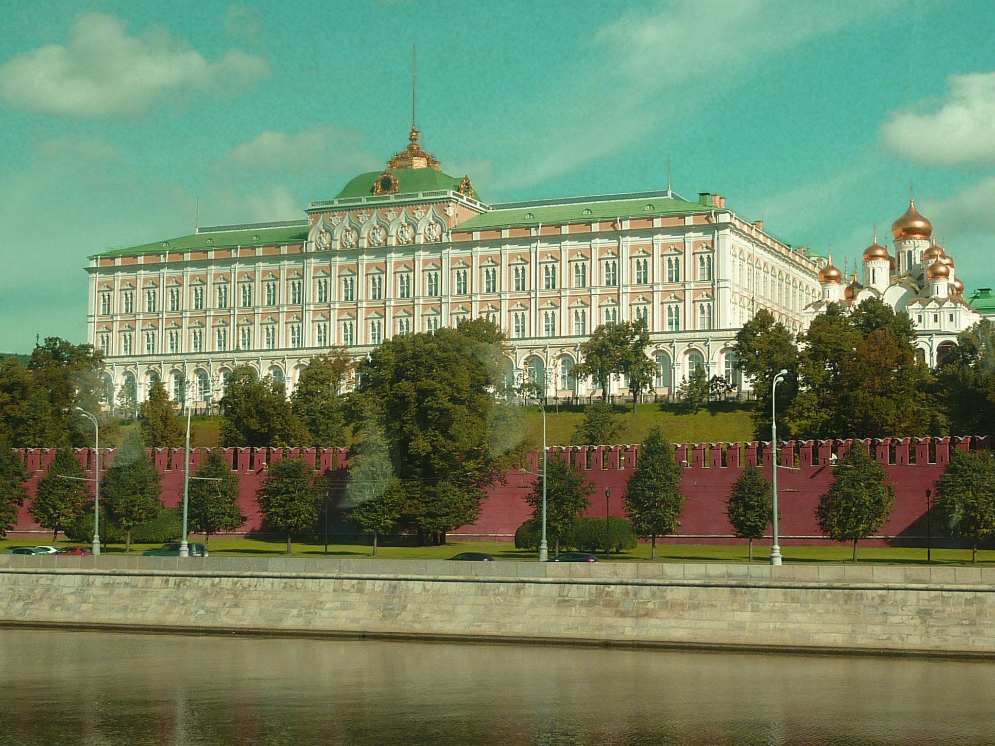 Blick auf den zentralen Kremlpalast