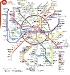 U-Bahn-Plan Moskau