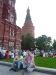 Kleine Verschnaufpause vor dem Kreml ...