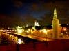 Kreml, Moskwa und Turm der Kremlmauer