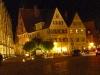 Marktplatz Dinkelsbühl  bei Nacht