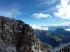 Panorama mit Gipfelkreuz