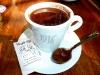 Schokolade im Café 1916