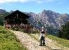 """Wandern zur """"Bärenbadalm"""" (1.457 m)"""
