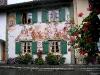 Bemaltes Wohnhaus in Mittenwald