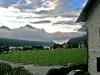 Dunkle Wolken über dem Achensee