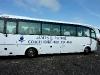 Ein großer Bus für 17 Teilnehmer