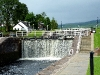 Schleuse des Caledonian Canal bei Fort Augustus