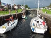Schleuse des Caledonian Canal