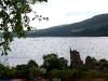 Loch Ness mit Urquhart Castle