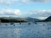 Panorama am Loch Broom