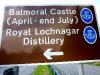 Balmoral Castle, nicht zu besichtigen