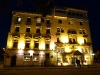 Queens Hotel by night